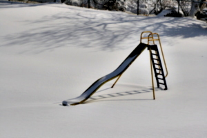 [picture: No-one on the slide today 1]