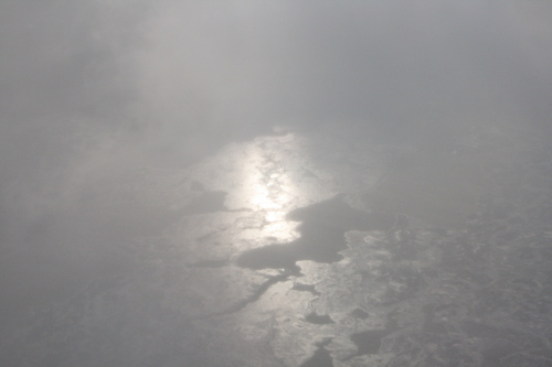 [Picture: Ice and Clouds on the Great Lakes 8]