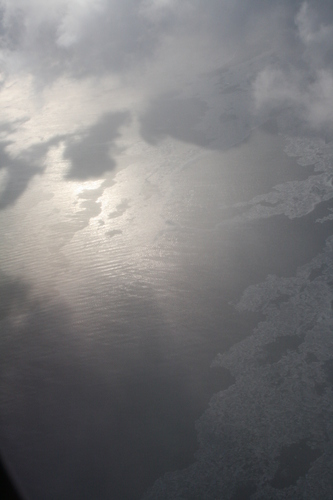 [Picture: Ice and Clouds on the Great Lakes 12]