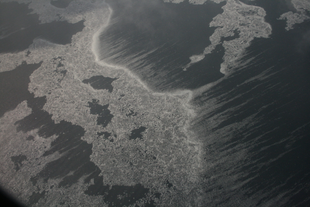[Picture: Ice and Clouds on the Great Lakes 14]
