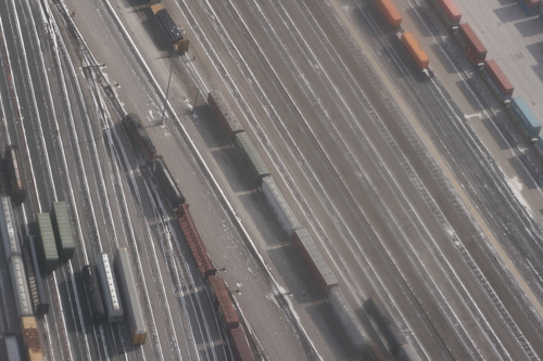 [Picture: Railway goods yard]