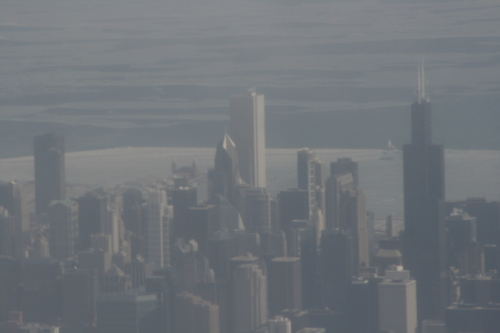 [Picture: Downtown Chicago: aerial view 2]