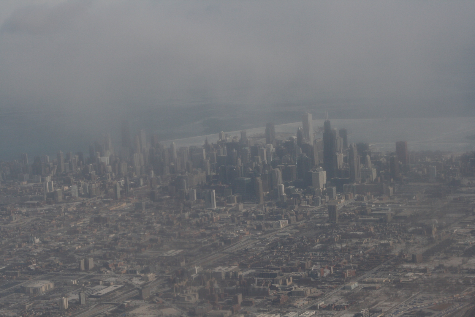 [Picture: Downtown Chicago: aerial view 4]