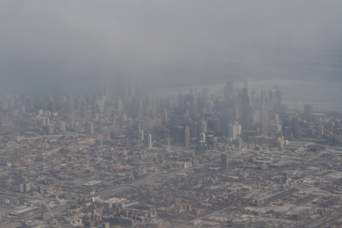 [Picture: Downtown Chicago: aerial view 5]