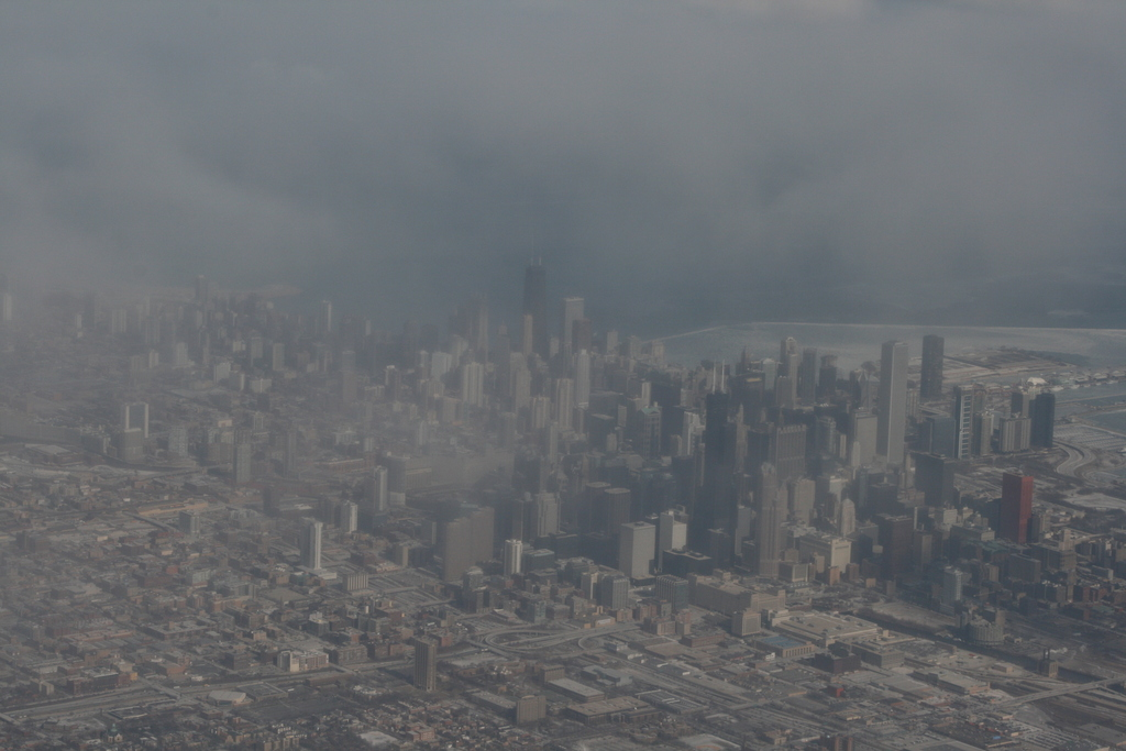 [Picture: Downtown Chicago: aerial view 6]