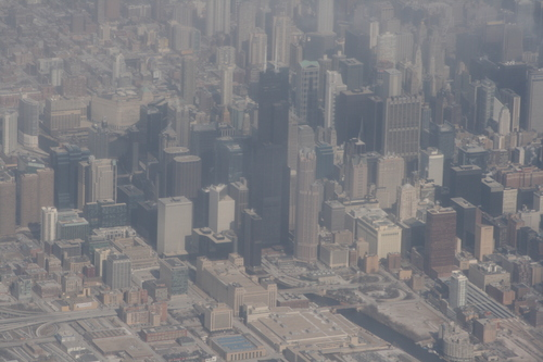 [Picture: Downtown Chicago: aerial view 8]