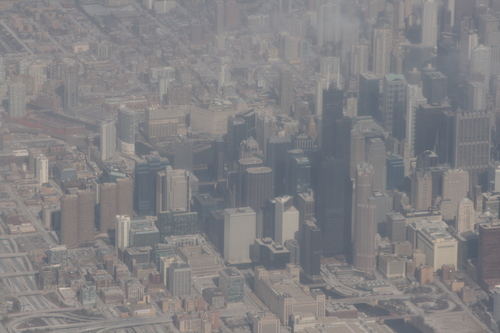 [Picture: Downtown Chicago: aerial view 9]