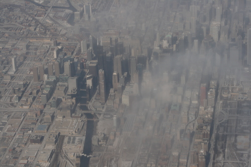 [Picture: Downtown Chicago: aerial view 10]