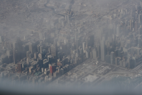 [Picture: Downtown Chicago: aerial view 11]