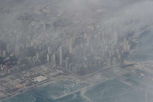[Picture: Downtown Chicago: aerial view 12]