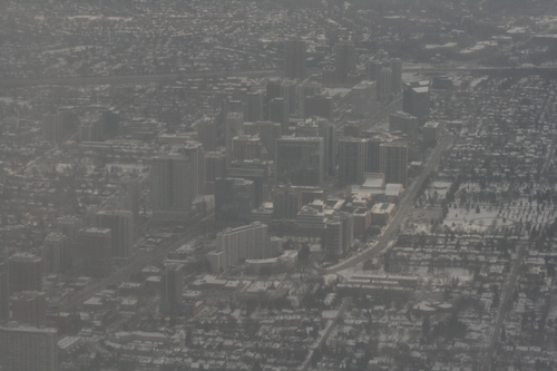 [Picture: Wintry Toronto from the Air 5]