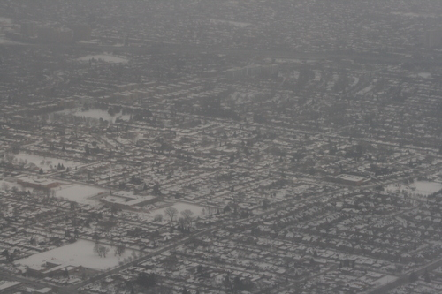[Picture: Wintry Toronto from the Air 9]