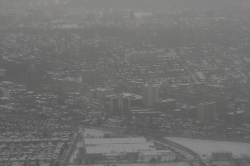 [Picture: Wintry Toronto from the Air 14]