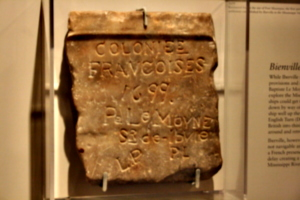 [picture: Iberville: Coloniee Francoises 1699]