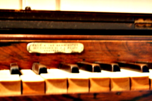[picture: Old keyboard instrument 4]