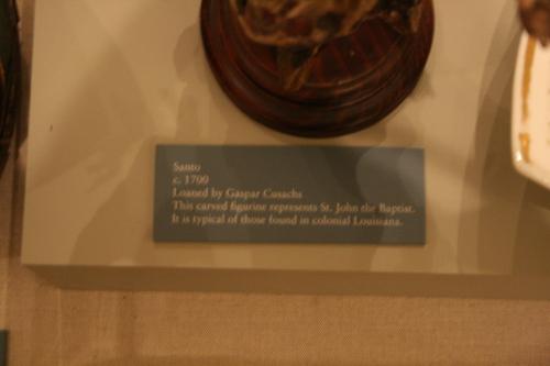 [Picture: Santo: St. John the Baptist Figurine 3]