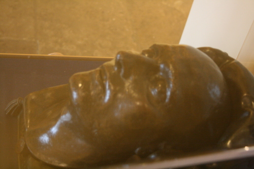 [Picture: Death Mask of Napoleon 1]