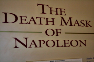 [Picture: The Death Mask of Napoleon 3]