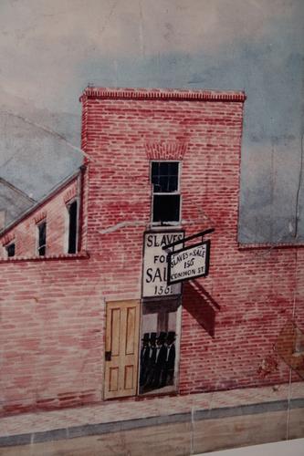 [Picture: Slave Shop]