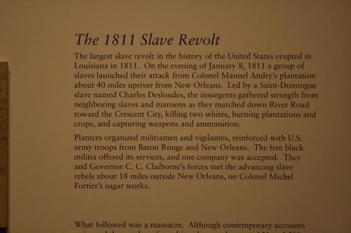[Picture: The 1811 Slave Revolt Caption 1]