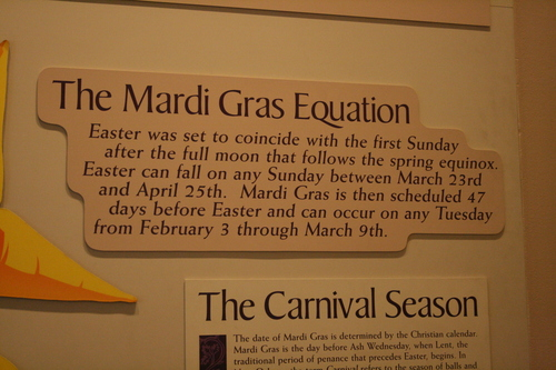 [Picture: The Mardi Gras Equation]