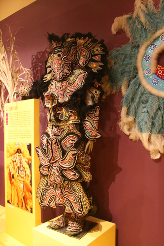 [Picture: Big Chief Suit for Mardi Gras]