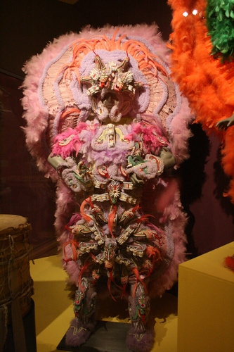 [Picture: First Nations Pink costume]