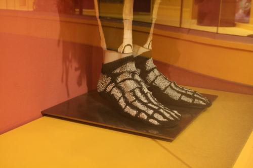 [Picture: Skeleton Socks]