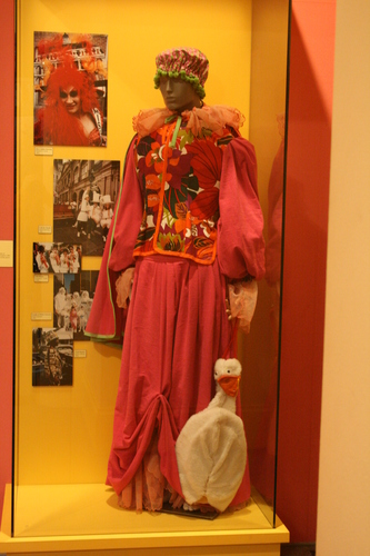 [Picture: Mother Goose Mardi Gras Costume]