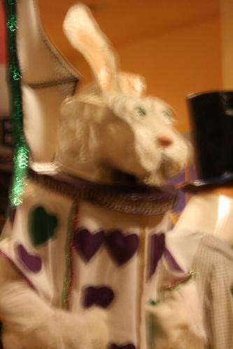 [Picture: White Rabbit Mardi Gras Costume 1]