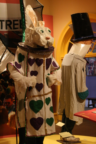 [Picture: White Rabbit Mardi Gras Costume 2]