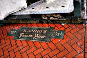 [picture: Karno's Famous Door 2]