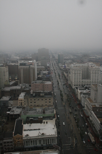 [Picture: Canal Street in the mist 2]