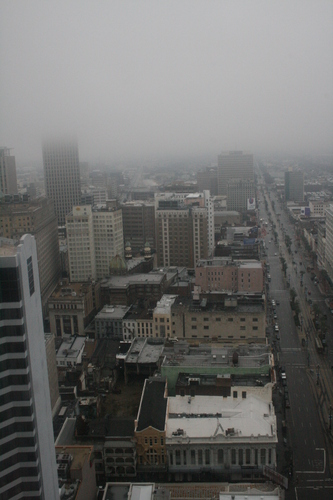 [Picture: Canal Street in the mist 3]