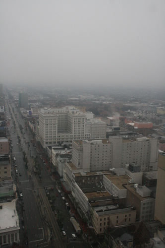 [Picture: Canal Street in the mist 4]