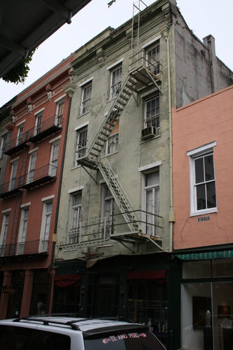 [Picture: Fire Escape Ladder]
