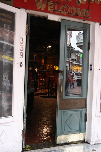 [Picture: Karno's Famous Door 1]