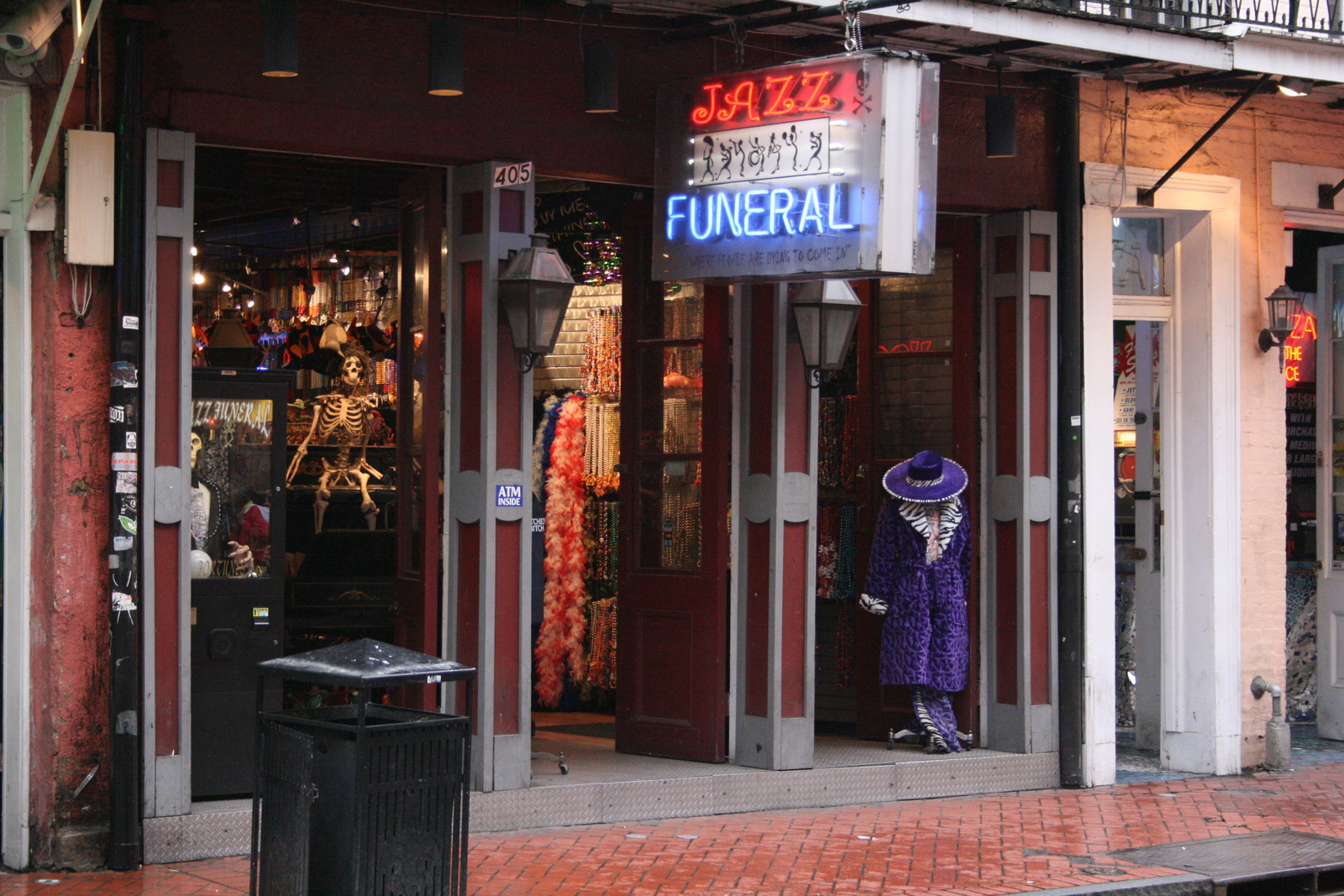 [Picture: Jazz Funeral]
