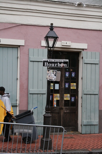 [Picture: Another Bourbon Street lamppost]
