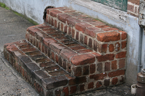 [Picture: Brick steps 1]