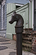 [Picture: Horse Post]
