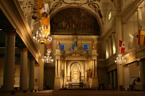 [Picture: Saint Louis Cathedral, Interior 1]