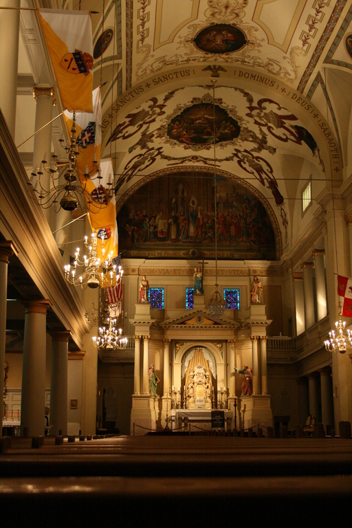 [Picture: Saint Louis Cathedral, Interior 2]