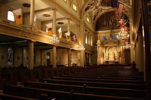 [Picture: Saint Louis Cathedral, Interior 8]