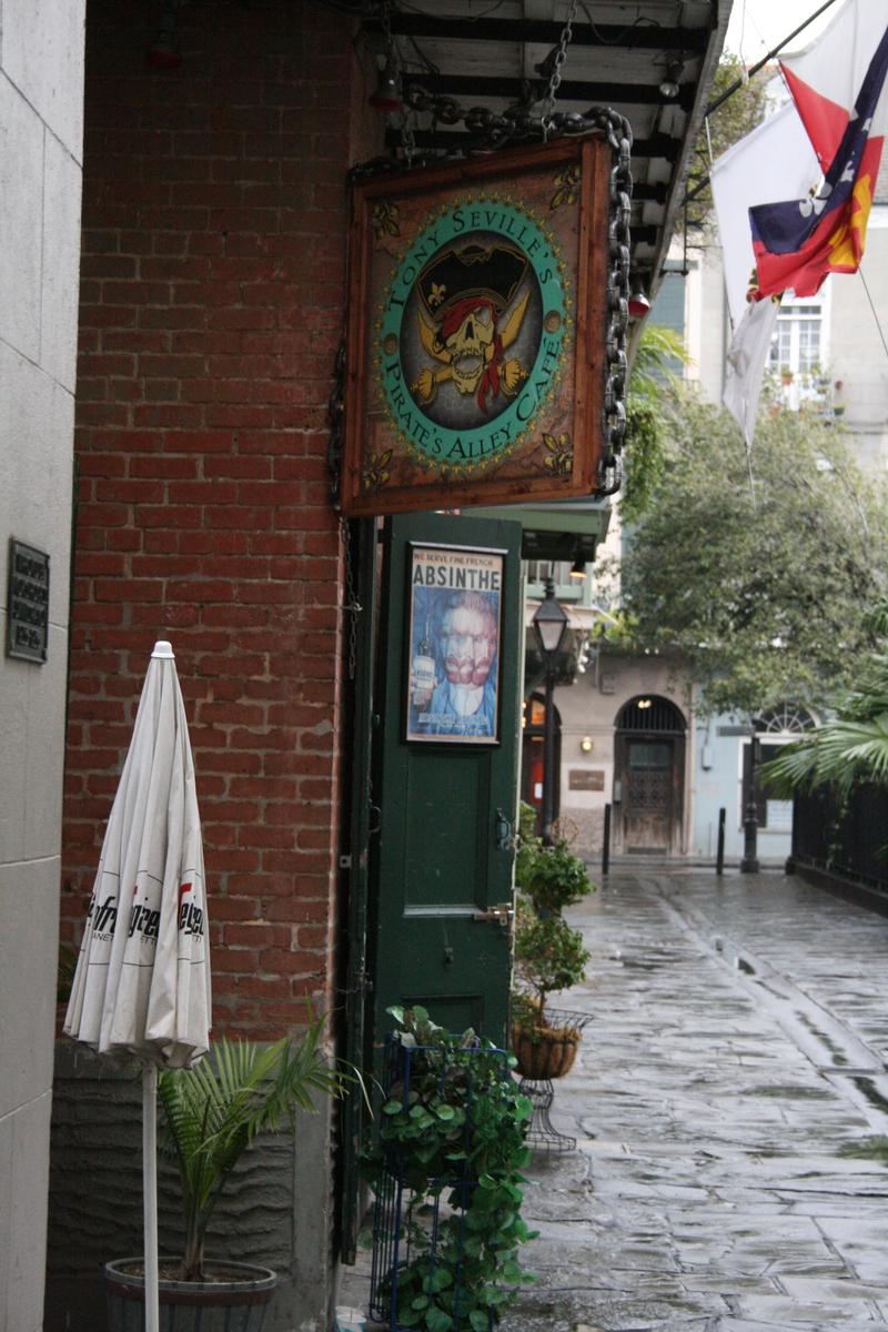 [Picture: Tony Seville's Pirate's Alley Café]