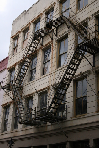 [Picture: Fire Escape Ladders]