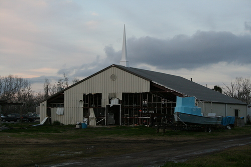 [Picture: It used to be a church]