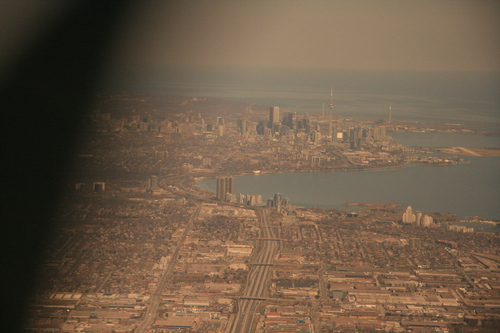 [Picture: Toronto from the air 1]