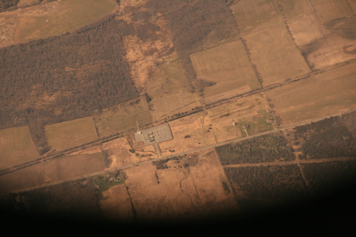 [Picture: Electricity Farm seen from the air]