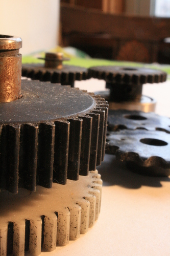 [Picture: Cogs 7: Horizontal view]